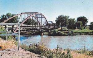 Fort Laramie Military Bridge, Fort Laramie, Wyoming, 1940-1960s