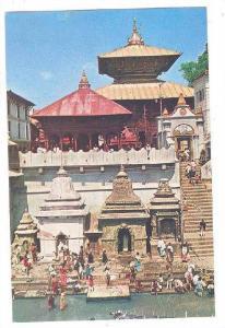 Temple of Pasupati Nath , Kathmandu , Nepal , 40-60s