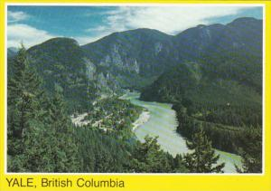 Canada British Columbia Yale Aerial View