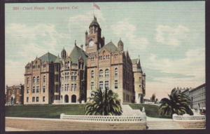 Court House Los Angeles CA Postcard 4763