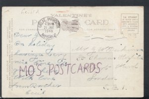 Family History Postcard - Dickinson - St Thomas Hospital, London  RF3072