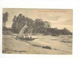 Mount Lavinia Hotel,Sea Shore,Ceylon,00-10s