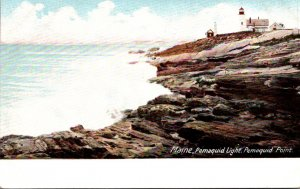 Maine Pemaquid Point Pemaquid Lighthouse