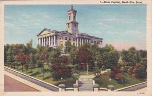 Tennesse Nashville State Capitol