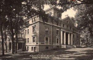 Ohio Delaware Sanborn Hall Ohio Wesleyan University
