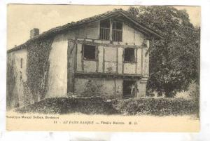 Vieille Maison, Au Pays Basque, France, 1900-1910s