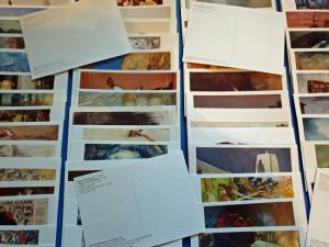 87 Different Brand New Art Postcards by Famous Artists JB284