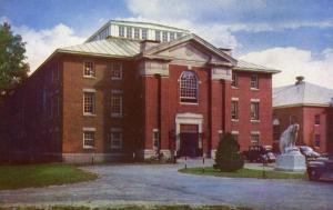 ME - Brunswick. Bowdoin College, Gymnasium