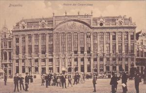 Belgium Brussels Maison des Corporations