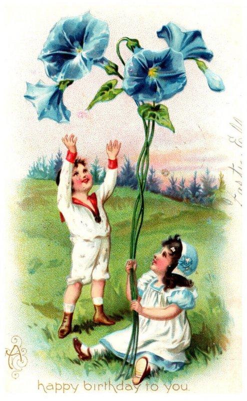 Birthday  Boy,Girl Giant Flower