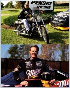 Rusty Wallace Nascar Photo Driver Card #2 Miller Lite Penske Racing N1