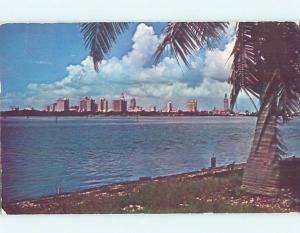 Pre-1980 PANORAMIC VIEW Miami Florida FL hp4532