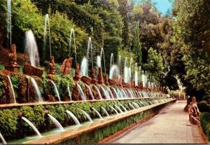 Italy Tivoli Villa D'Este The Hundred Fountains