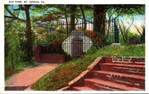 Virginia Mount Vernon Washington's Old Tomb