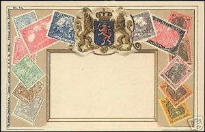 Germany Hesse Hessen STAMP Postcard 10s Deutsches Reich