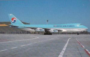 Korean Air Cargo Boeing 747-2B5F At Frankfurt Germany