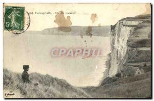 Old Postcard Varengeville Sur Cliffs