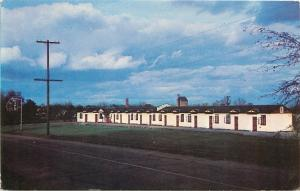 Richland Georgia~Georgia Motels Inc~Florida Short Route~Dark Clouds~1950s PC