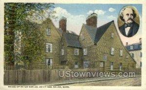 House of the Seven Gables - Salem, Massachusetts MA