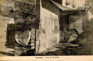 Italy - Ercolano. Casa di Aristide. Archaeological Site
