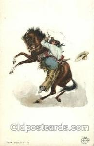 Detroit Publishing Western Cowboy, Cowgirl Postcard Postcards  Detroit Publis...