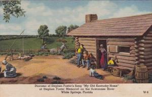 Florida White Springs Diorama Of Stephen Foster's Song My Old Kentucky Home