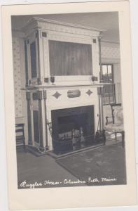 Real Photo: Ruggles House, Columbia Falls, Maine, 1940-50s