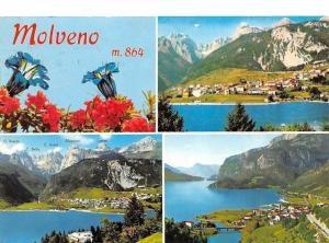 Italy Dolomiti di Brenta (Trentino) Molveno Lake General view Lac