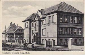 Straznice. Zemska hosp. skola. , Slovakia , PU-1942