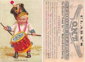 approx size inches = 2.75 x 4.25 Trade Card, Tradecard