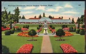Washington SPOKANE Municipal Greenhouse Duncan Gardens, Manito Park LINEN