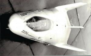 De Martin SV5J Lifting Body RPPC Aviation Postcard 02.71
