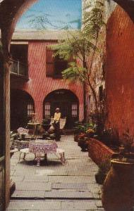 Louisiana New Orleans Spanish Courtyard