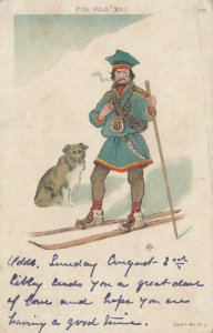 Fin Paa Ski , 1902