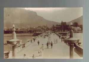 Mint RPPC Real Photo Postcard South Africa Cape Town Pier