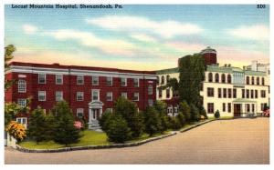 Pennsylvannia Shenandoah , Locust Mountain Hospital