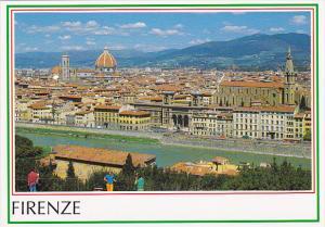Italy Firenze Veduta Panoramica