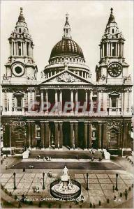 Modern Postcard St Pauls Cathedral London