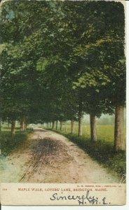 Bridgton, Maine, Maple Walk, Lovers' Lane