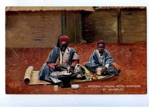 203101 NIGERIA Hausa Metal Workers at Wembley Vintage TUCK PC
