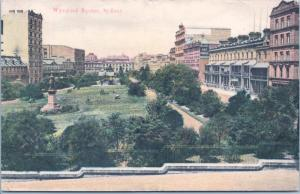 Wynyard Square Sydney Australia AU Alpha Series Vintage Postcard E15