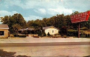 Arkansas Hot Springs Dan's Motel & Cafe 1964