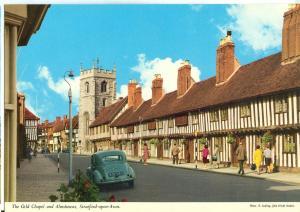 UK, The Gild Chapel and Almshouses, Stratford-upon-Avon, 1960s unused Postcard