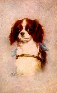 Princess - A sweet little pup. Artist: Kenyon