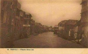 Lebanon Tripoli Fleuve Abou Ali River Postcard
