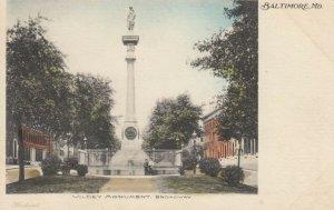 BALTIMORE , Maryland , 1901-07 ; Wildey Monument , Broadway