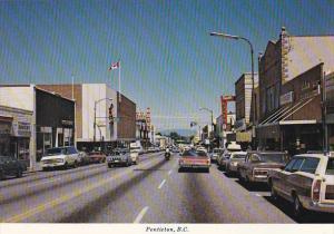 Canada Street Scene Penticton British Columbia