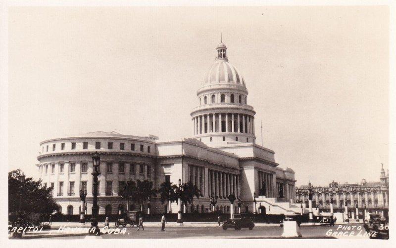 HAVANA, Cuba, 1920-1940s: Capitol