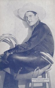 KEN MAYNAERD, In cowboy costume, American Actor & Producer, 1920-40s