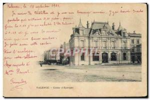 Old Postcard Bank Valencia Caisse d & # 39Epargne